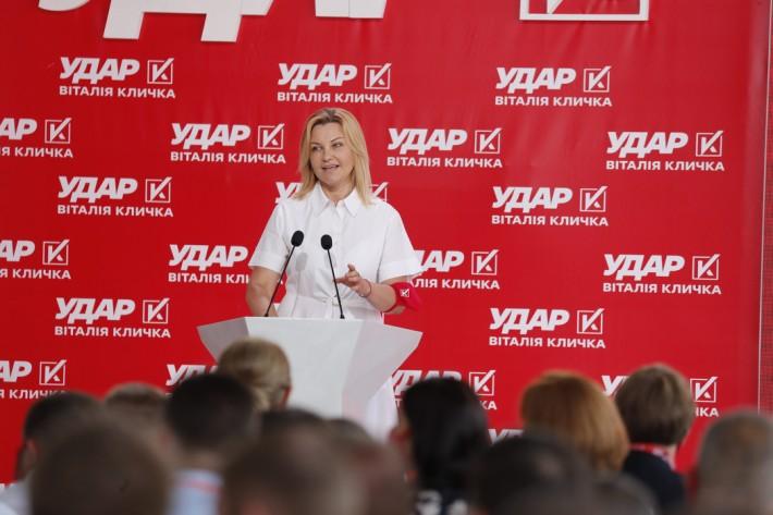 Оксана Продан: Саме ми, ударівці, розпочали процедуру розпуску парламенту сьомого скликання через те, що він не забезпечував голосувань за демократичний розвиток України